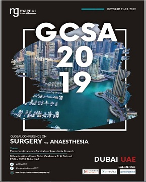 Global Conference on Surgery and Anesthesia | Dubai, UAE Book