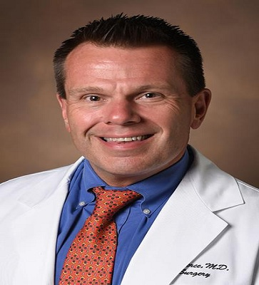Keynote speaker for surgery conference - Richard A. Pierce